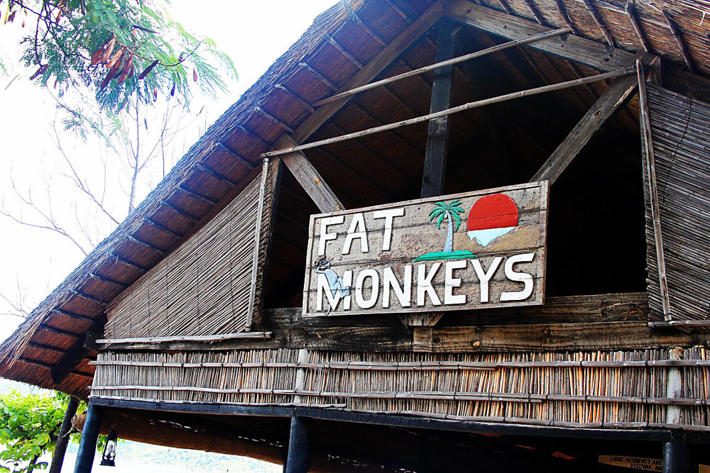 Fat Monkeys beach bar