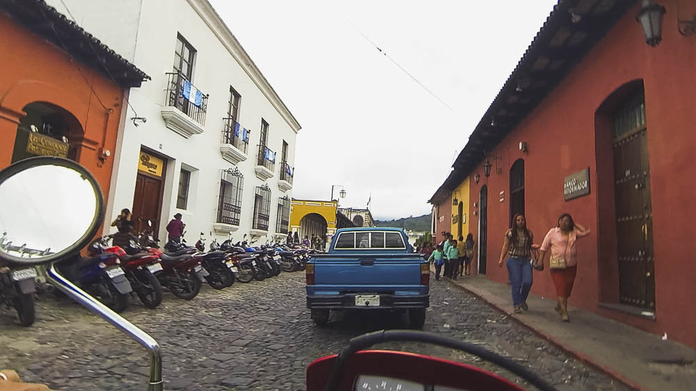 bikes and scooters are a very popular, and inexpensive, mode of transport for both locals and visitors across Guatemala