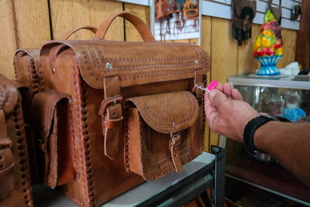 cheap local hand crafted leather goods