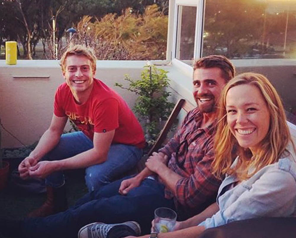 reunited with our old Melody crew :) Photo credit Vivian Botha