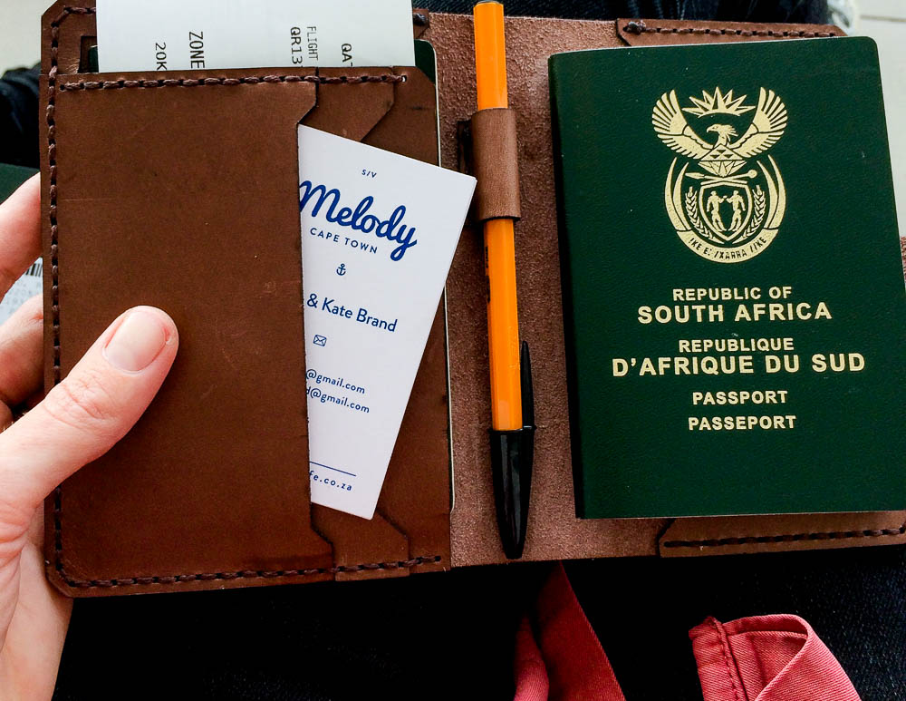 brand new MAXI passport for all the many countries we will continue to travel to!